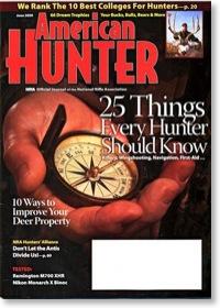 American Hunter magazine June 2009